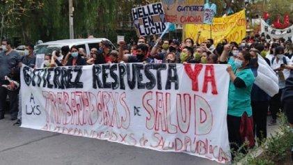 Colapso sanitario en Neuquén: trabajadores autoconvocados de salud le responden al Gobierno