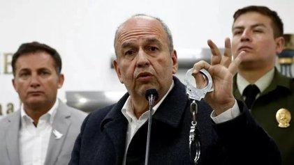 El FBI detiene por corrupción a exministro golpista boliviano Arturo Murillo