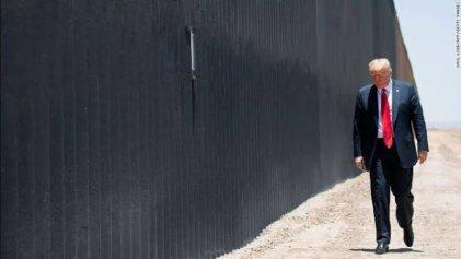 Trump vuelve sobre el muro fronterizo, acusa a Biden de alza en la migración
