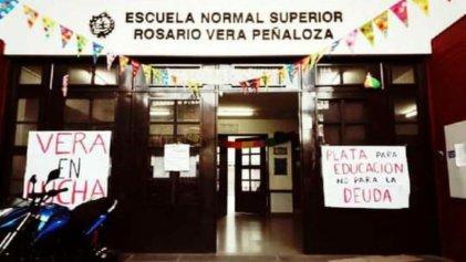 Secundaria 22 de Villa Ballester: los docentes se unen ante una presencialidad sin condiciones
