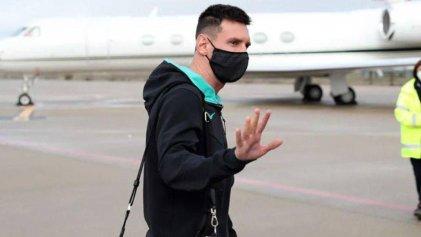 Messi ya arregló con el PSG y hoy mismo viaja de Barcelona a París