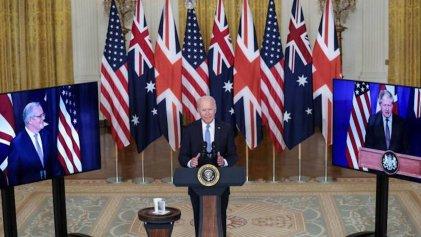 Polvorín en el Indo-Pacífico: pacto contra China reúne a EEUU, Reino Unido y Australia