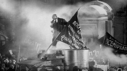 Lenin llegar para torcer el curso de la historia