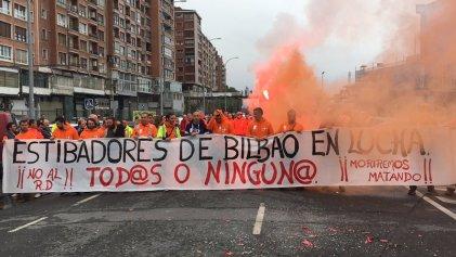 Nueva huelga de la estiba de 48 horas contra la precarización del sector