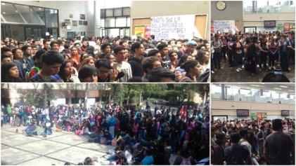 """""""Nos quieren en las aulas mientras hay personas enterradas"""": estudiante de la UNAM en asamblea"""