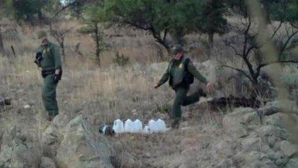 Patrulla fronteriza destruye ayuda humanitaria para inmigrantes desde Gobierno de Obama