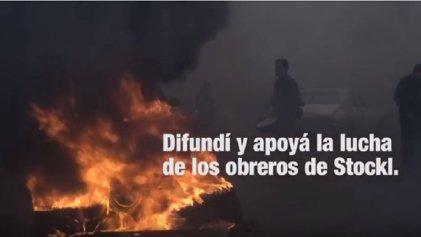 [Video] Trabajadores de Stockl enfrentan el vaciamiento y el cierre de la autopartista