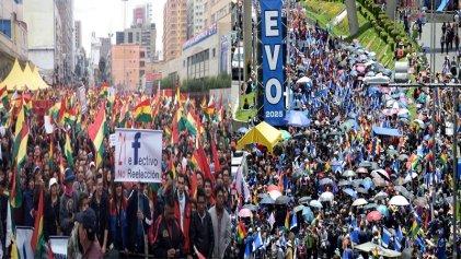 Bolivia: el Gobierno y la oposición se disputan la calle