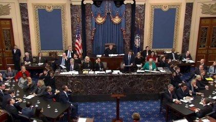 El Senado absuelve a Donald Trump del impeachment en su contra