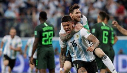 Arrancó el Mundial para Argentina: triunfo 2-1 ante Nigeria y clasificación agónica