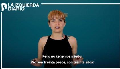 Beatriz Bravo explica qué Asamblea Constituyente impulsan trabajadores, mujeres y juventud