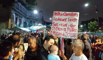 Se llenaron las calles por memoria y justicia por los pibes de Cromañón