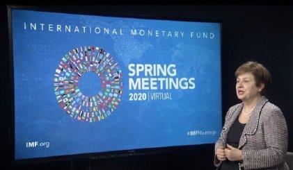 El FMI proyecta que la economía mundial caerá un 3 % por los efectos del coronavirus