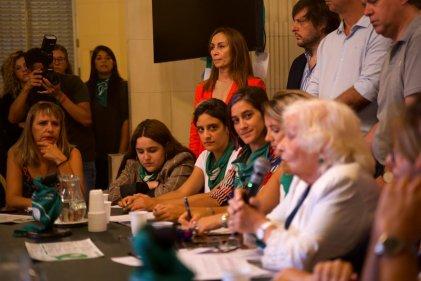 La Legislatura porteña discute la Interrupción Legal del Embarazo