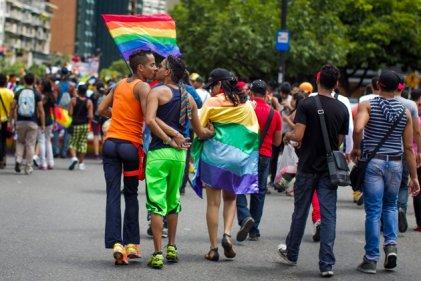 En Caracas se marchó por el derecho al matrimonio igualitario