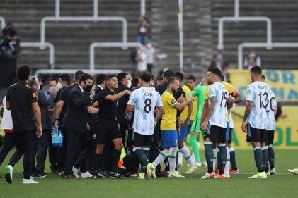 Escándalo en San Pablo por la suspensión del partido Brasil-Argentina por eliminatorias