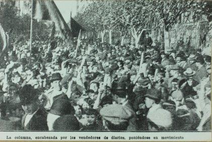 En el Centenario de la Revolución de Mayo, los trabajadores no tenían nada que festejar
