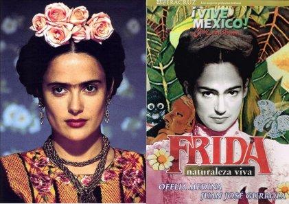 Dos versiones cinematográficas sobre la vida de la pintora Frida Kahlo
