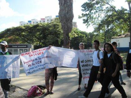 Tercerizados de la Universidad Central de Venezuela: se puso en pie un fondo de lucha