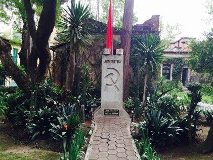 El exilio de Trotsky en México