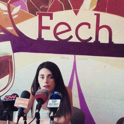 """Vicepresidenta FECH: """"la reforma que se nos está presentando es estructuralmente neoliberal"""""""