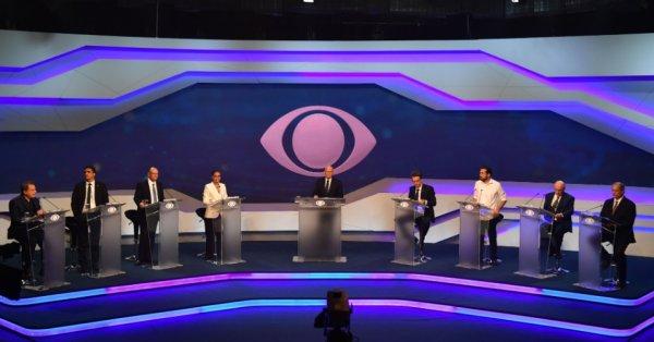 Sin Lula, Brasil tuvo su primer debate presidencial