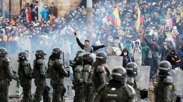 Crece la rebelión en Colombia a pesar de la brutal represión de Duque