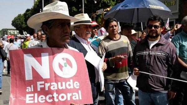 Fraude electoral en Puebla, la dirección de Morena no se moviliza