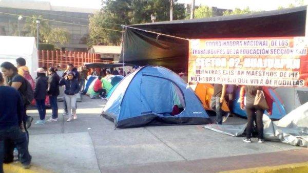 Inicia jornada de lucha de la CNTE en la CDMX