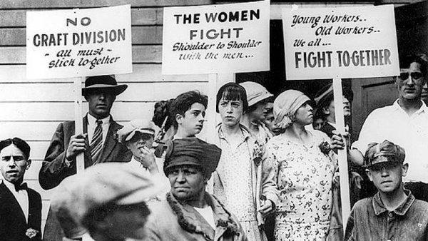 La huelga de Pan y Rosas: cuando las trabajadoras dijeron basta