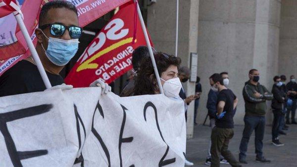 """Manifestación unitaria para el 6 de junio en Italia: """"Que la crisis la paguen los capitalistas"""""""