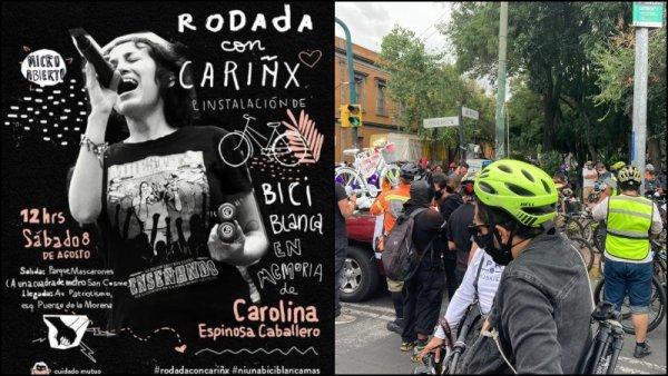 Rodada por Carolina: ¡Las vidas de los ciclistas importan!