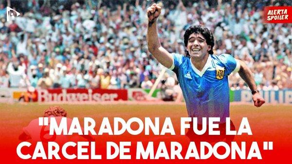 """Andrés Burgo: """"Maradona fue la cárcel de Maradona"""""""