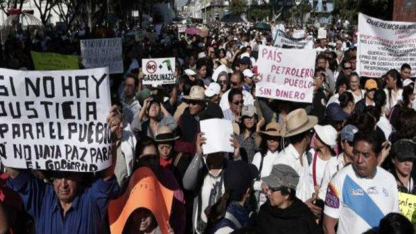 9 días de protesta en contra del 'gasolinazo', el descontento que no cesa