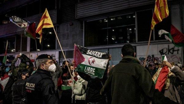 Manifestaciones en el Estado español en solidaridad con el Sahara Occidental