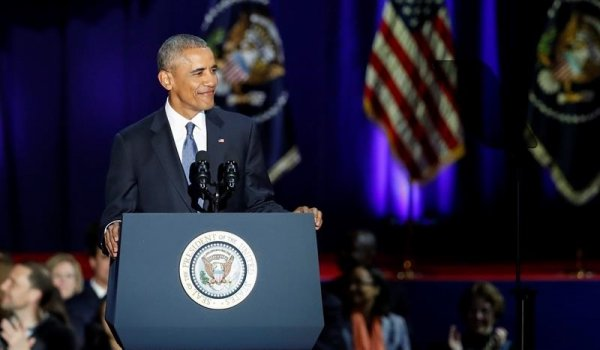 El último discurso de la era Obama