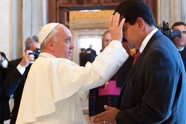 Carta filtrada del Papa a Maduro