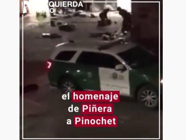 [Video] Torturas, desapariciones y violaciones en Chile: el homenaje de Piñera a Pinochet